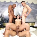 Shemale Star Bruna Butterfly Gangbang! Part 3