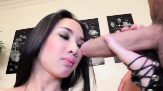 Fresh busty brunette May gets fucked so well