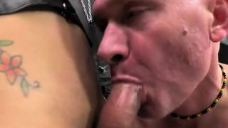 Big cock shemale hardcore and cumshot