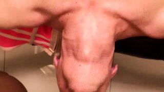 Ladyboy Baimon Fucks Guy's Mouth And Ass